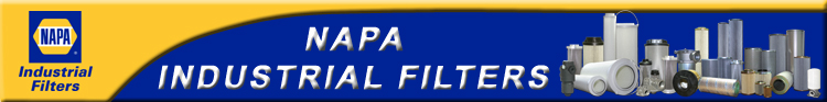 NAPA Industrial Filters Filtration Products